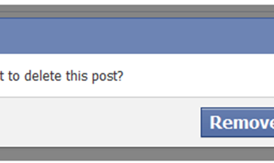 Quickly Delete Your Old Facebook Activity