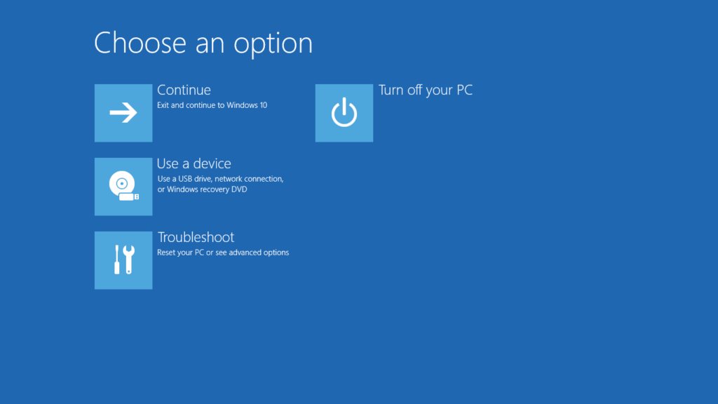 Windows Computer Repair Options