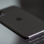 back of an iPhone